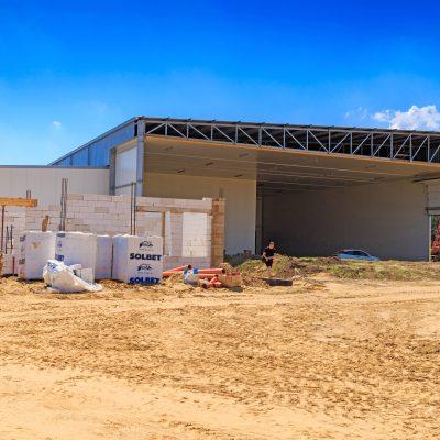 budowa hali wraz z częścia biurową