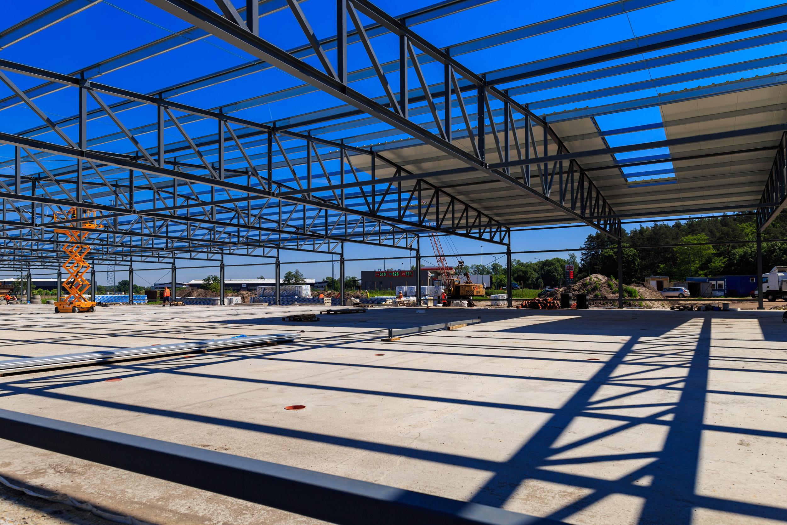Projektowanie i budowa konstrukcji stalowych